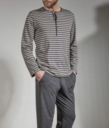 Мужская пижама Verdiani 5809 в полоску