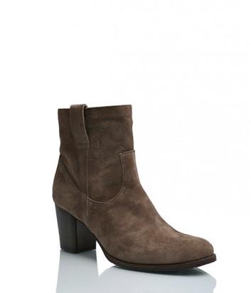 Замшевые ботинки Nic Dean 22616 коричневые