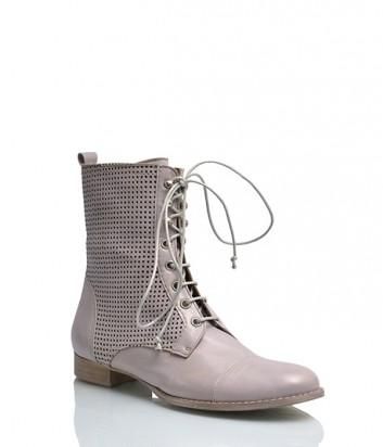 Кожаные ботинки Nic Dean 22603 серые