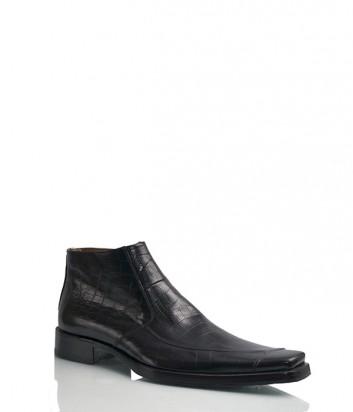 Мужские ботинки Carlo Ventura 5113 с тиснением под крокодила