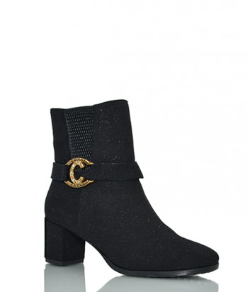 Зимние ботинки Conni 5329 на маленьком каблуке