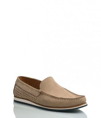 Замшевые туфли Vicolo 30 бежевые