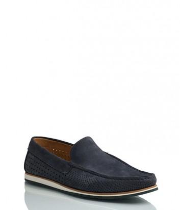 Замшевые туфли Vicolo 30 синие
