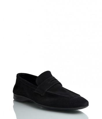 Замшевые туфли Florian 813 черные
