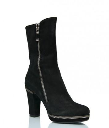 Замшевые ботинки Loriblu 546 черные