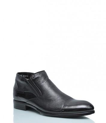 Кожаные ботинки Mario Bruni 17564 с лаковым носком