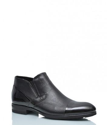 Кожаные ботинки Mario Bruni 848 с лаковым носком