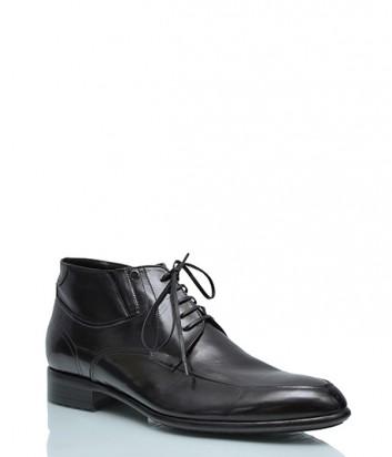 Классические ботинки Mario Bruni 19366 на меху черные