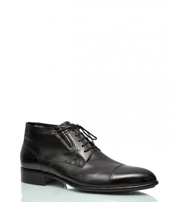 Зимние кожаные ботинки Mario Bruni 18960 черные