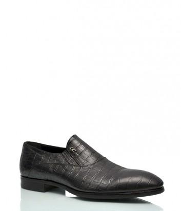 Туфли Giovanni Ciccioli 921 с тиснением под крокодила