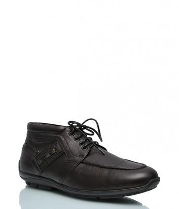 Кожаные ботинки Giovanni Ciccioli 3138 черные