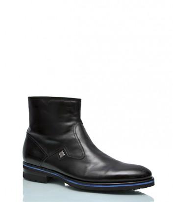 Кожаные ботинки Mario Bruni 891 черные