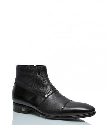 Кожаные ботинки Mario Bruni 119 черные