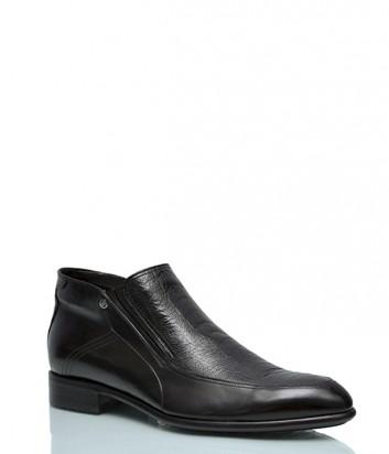 Кожаные ботинки Mario Bruni 18987 на меху черные