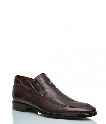Кожаные ботинки Mario Bruni 83667 на меху коричневые