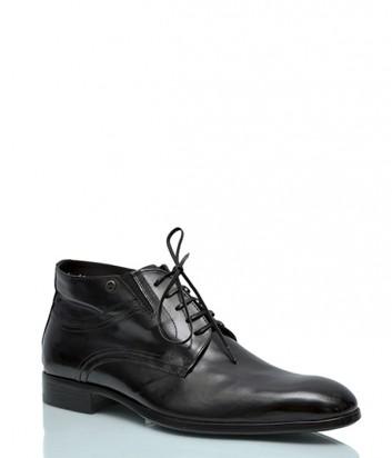Кожаные ботинки Mario Bruni 309 черные