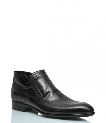 Лаковые ботинки Mario Bruni 957 с тиснением под рептилию