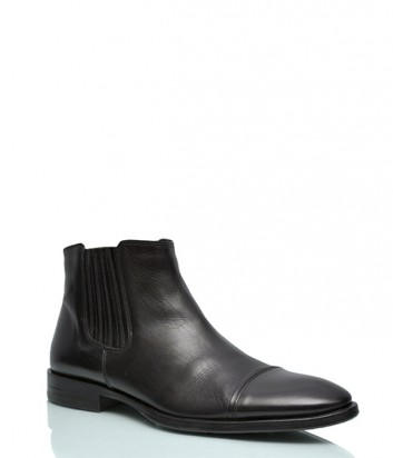 Кожаные ботинки Dino Bigioni 151 черные
