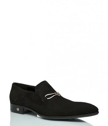 Замшевые туфли Giampieronicola 17302 черные