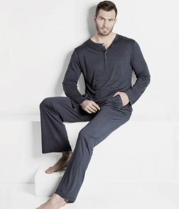 Мужская пижама ISA bodywear 217504 серая