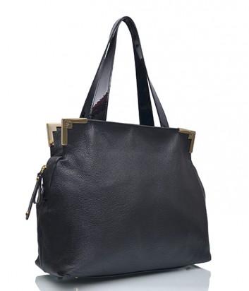 Кожаная сумка Di Gregorio 373 черная