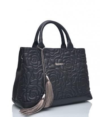 Кожаная сумка Marina Creazioni 3920 черная