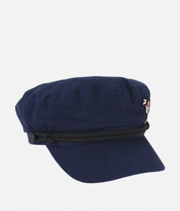 Женская кепка Karl Lagerfeld KARL CAPITANO темно-синяя