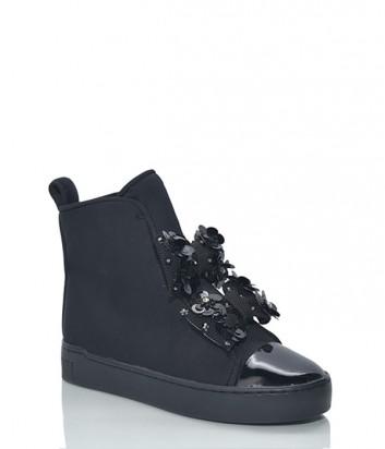 Ботинки Suecomma Bonnie с лаковым носочком черные