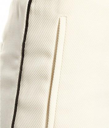 Кремовый спортивные брюки PINKO с черными полосками