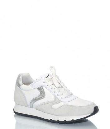 Комбинированные женские кроссовки Voile Blanche 2012272 белые
