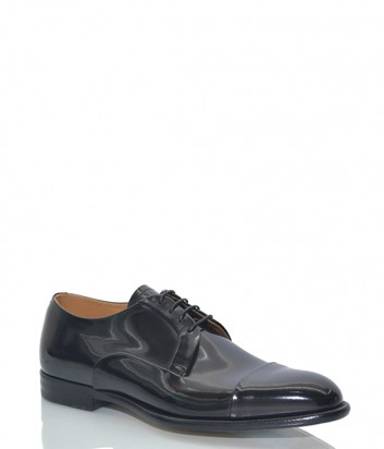 Мужские туфли Fabi 7892 из лаковой кожи черные