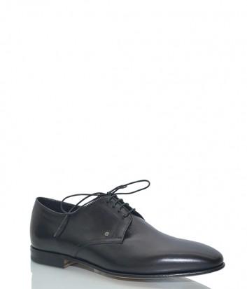 Кожаные мужские туфли Fabi 8430 черные
