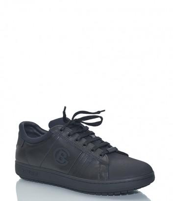 Кожаные кроссовки Baldinini 846980 черные