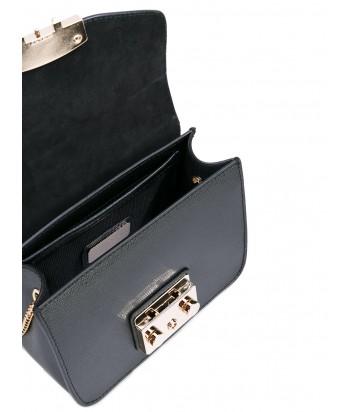 72f4237f39c9 ... Маленькая кожаная сумка Furla Metropolis 820676 через плечо черная