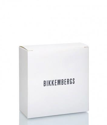 Мужской кожаный ремень Dirk Bikkembergs BD1855 коричневый