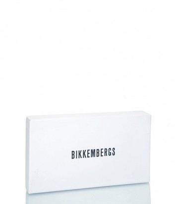 Большое кожаное портмоне Dirk Bikkembergs 7BD9307 синее