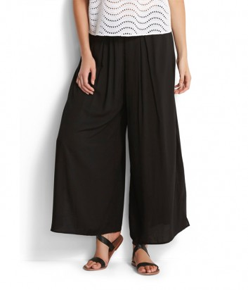 Пляжные легкие штаны Seafolly 53318-PA черные