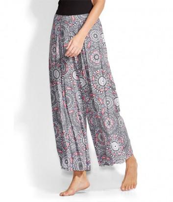 Пляжные легкие штаны Seafolly 53250-PA с цветным принтом