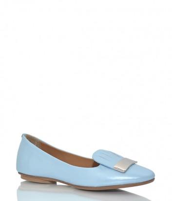 Кожаные туфли Fabio Di Luna 6930 голубые