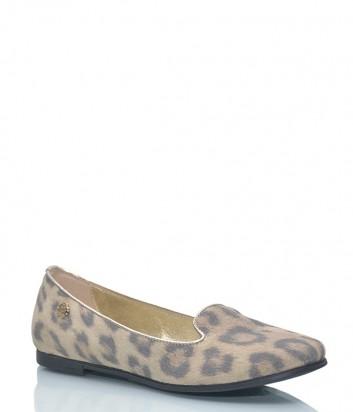 Слиперы Roberto Cavalli 40859 с леопардовым принтом