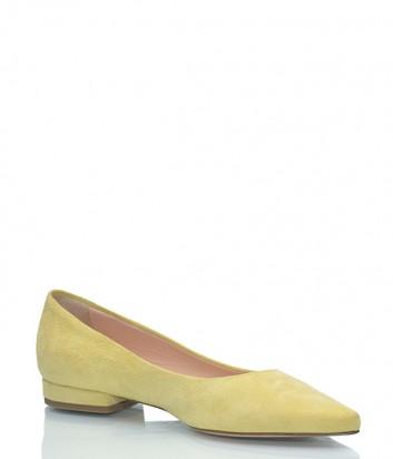 Замшевые туфли Marco Barbabella 1020 желтые
