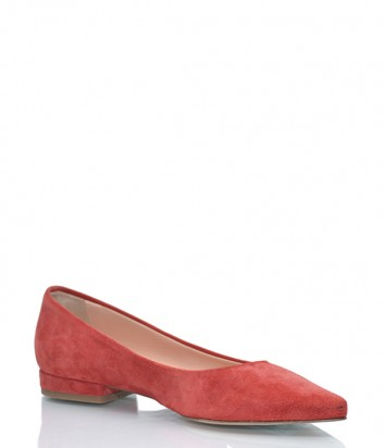 Замшевые туфли Marco Barbabella 1020 красные