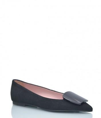 Замшевые туфли Pretty Ballerinas 44.849 черные