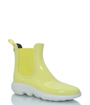 Резиновые ботинки с ароматом Lemon Jelly Gravity 02 желтые