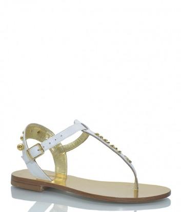 Кожаные сандалии Paola Fiorenza BOR 26 белые
