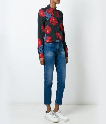 Женский комбинезон MSGM блуза и джинсы