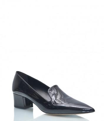 Лаковые туфли Fabio Rusconi 334 с заостренным носком черные