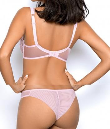 Комплект Ewa Bien Dream бюст с мягкой чашкой B139 и бразилианки C322 розовый