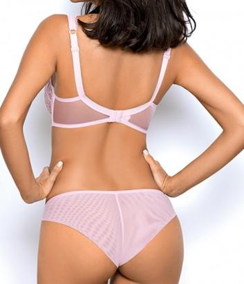 Комплект Ewa Bien Dream бюст с мягкой чашкой B139 и бразилианки C511 розовый