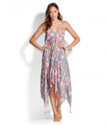 Длинное платье Seafolly 53301-DR с принтом